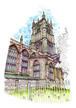 St Laurences Church Ludlow