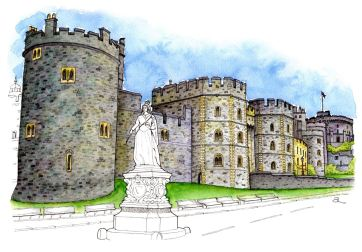 Windsor Castle Windsor England Snip