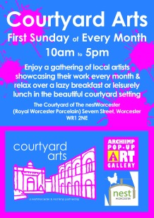 Courtyard Arts Poster