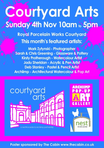 A4Courtyard Arts 4th Nov Web