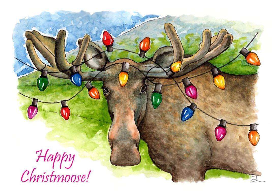Merry Christmoose