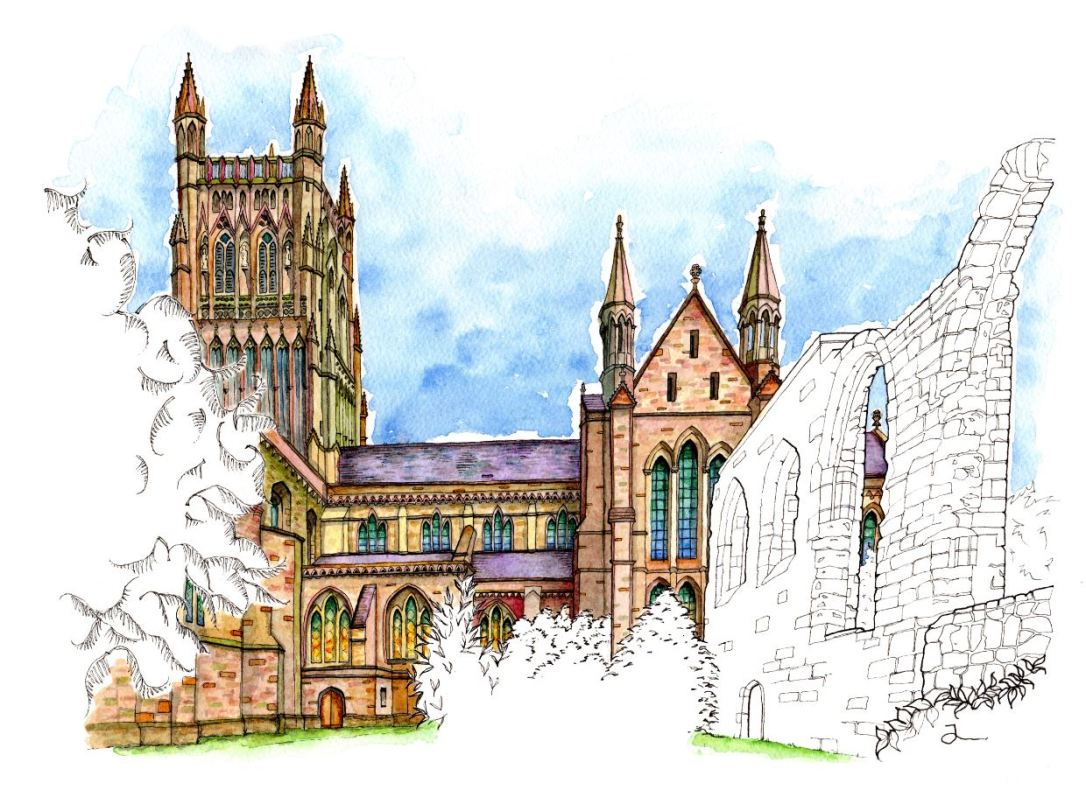 Worcester Cathedral Aspect II